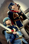 Marth and Ike by Piratin-Nami