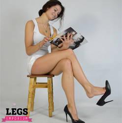 Dangle Fetish with the Legs Goddess - Elena - LE by LegsEmporium