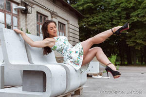 Shapely Strong Legs and Calves of Alina - LE by LegsEmporium