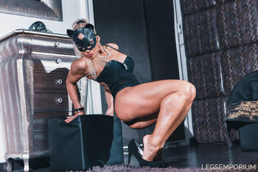 Glorious Muscular Body - Csilla Fodor - LE by LegsEmporium