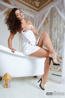 Legs Goddess and a Towel....Nuff Said - LE by LegsEmporium