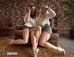 Tammy and Jewel Legs For Days - Legs Emporium by LegsEmporium