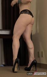 IFBB Legs and Booty of Andrea Gaicomi - LE by LegsEmporium