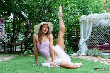 Candice Beautiful Ballerina Legs and Hypnotic Eyes by LegsEmporium