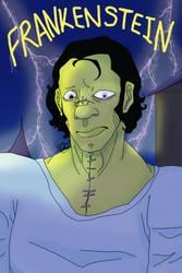 Frankenstein Poster2 by Sarsee
