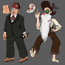 Gravity Falls Again Odds Ref by Sarsee