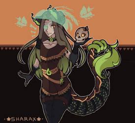 [Undertronic] SharaX (Swamp Siren) by SharaXOfficial