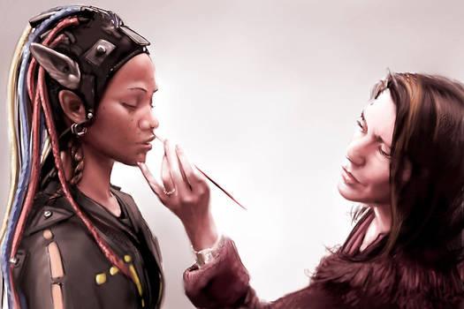 Avatar - making of by l0ne-star