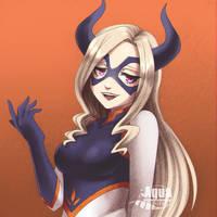 [Boku no Hero Academia] Mt. Lady by AquaLeonhart