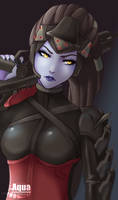[Overwatch] Widowmaker by AquaLeonhart