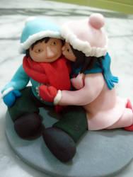 A Winter's Kiss by Sliceofcake