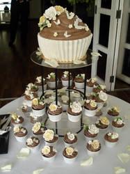 Giant Cupcake Tower by Sliceofcake