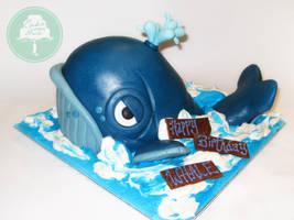 The Grumpy Whale by Sliceofcake