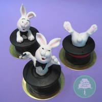 Bunny Magic (Cake) by Sliceofcake