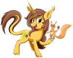 Never Leave Home Without Your Acorn by Autumn-Dreamscape