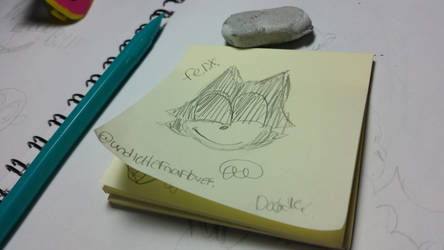 Felix. (doodle)  by Undertalefnaflover
