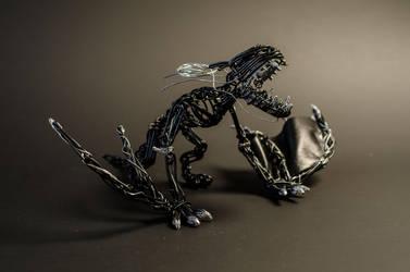 Dragon noir by Arceoroise