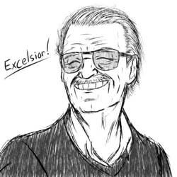 Stan Lee (1922 - 2018) by Jeddy017-VZ