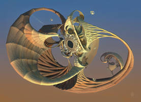 The Improbable Floating  Portalthingy by audre