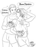 APH-Germany x Italy Xmas by fablespinner