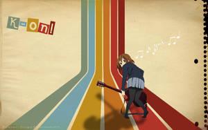 K-on - Yui Retro by AnielmiaH