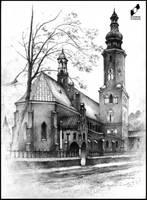 Parish Church in Radom by lustrzany