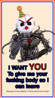 Ennard wants YOU, to get him the fuck out of here  by AndyDatRaginPurro