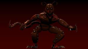 FNAC 3  Monster RAT model by AndyDatRaginPurro