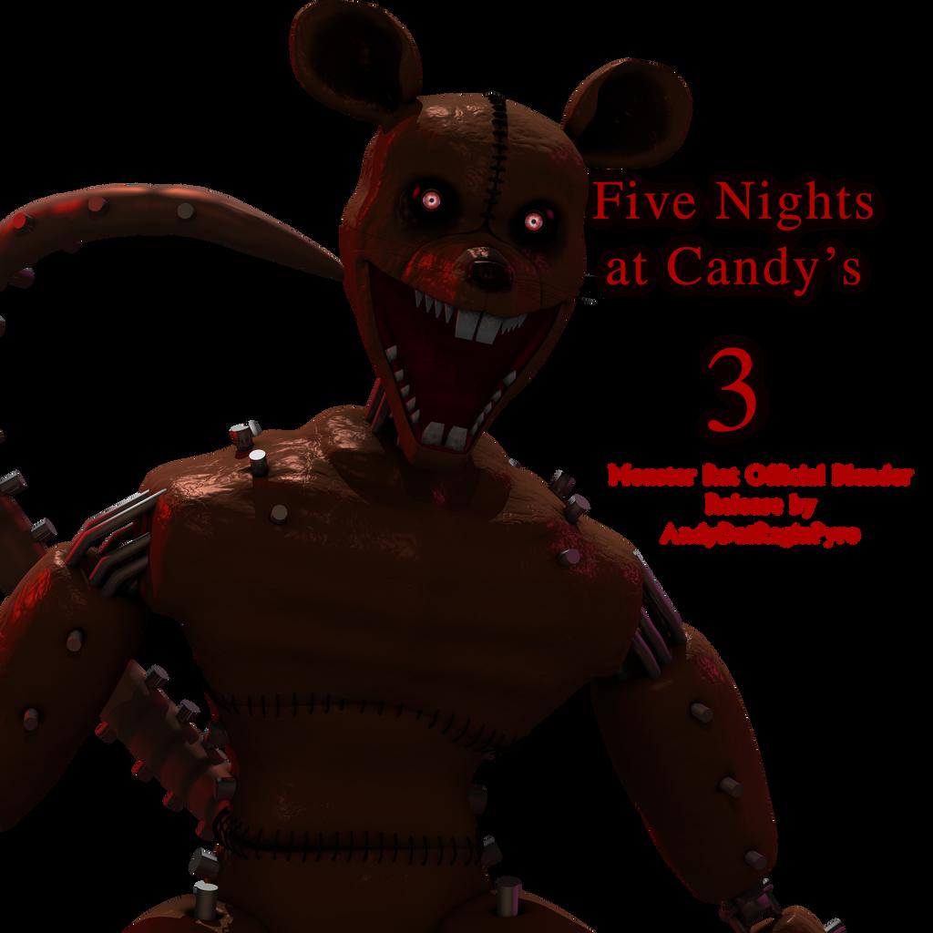 FNAC 3: Monster Rat Unnecessary Blender Release! by AndyDatRaginPurro