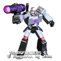Transformers G1 Blender Megatron by Zono by AndyDatRaginPurro