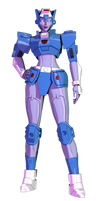 Transformers G1 Chromia model by AndyPurro by AndyDatRaginPurro