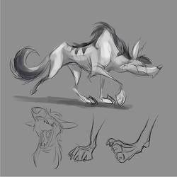 Aardwolf Ruff by Totalmeep