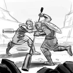 Gladiators by Totalmeep