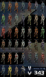 Halo 4 Spartan Compilation by Labj