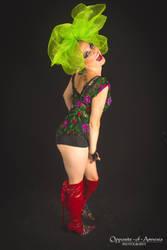 Retro Chick by MooneWolfe