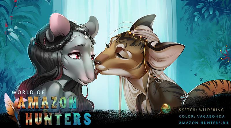 Amazon Hunters: Cat and mice by MintDog