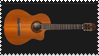 Classical Guitar Stamp by Malidicus