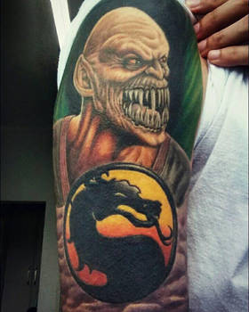 my Baraka Tattoo by DesertoMental