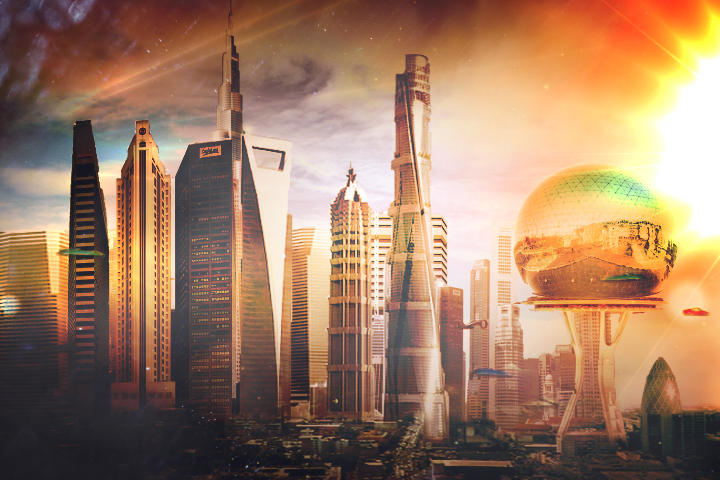 FUTURE CITY by Boombastik3