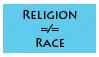 Religion is Not a Race by SilverBeastLaguz