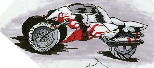 Red Runner by Garcia777Ivan