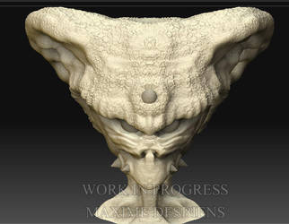 Alien - WIP by Desbeanz