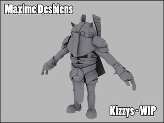Kizzys the Guardian - WIP by Desbeanz