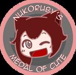NUKOxRWBY - Medal of Cute by geek96boolean10