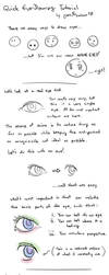 A Quick Guide to Drawing Eyes by geek96boolean10