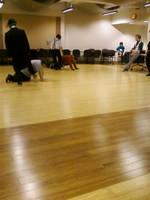 Practice-kick by regates