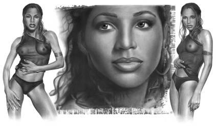 Toni Braxton by Blaze0ne