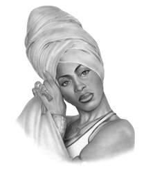 Erykah Badu by Blaze0ne