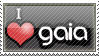 I love Gaia online stamp by Cyberdemon6030