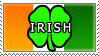 Irish stamp by Cyberdemon6030
